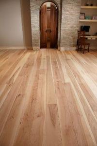 hickory wide plank flooring beautiful door