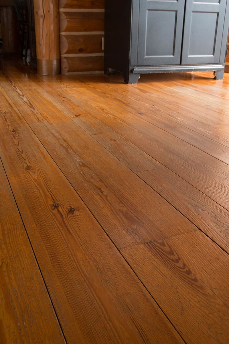 Heart Pine William And Henry Wide Plank Floors
