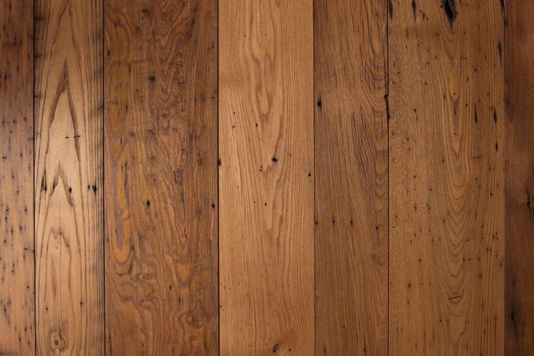 Reclaimed chestnut wide plank floor