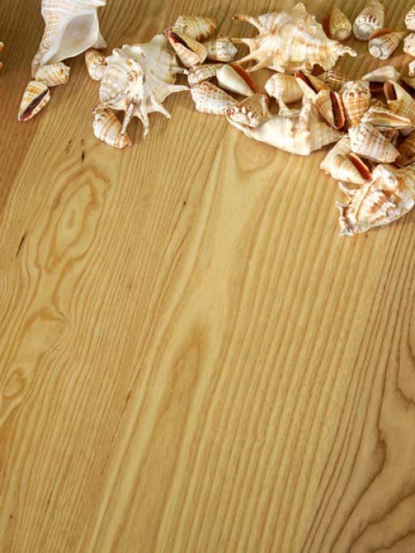 ash flooring closeup