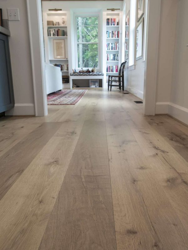 country white oak wide plank photo