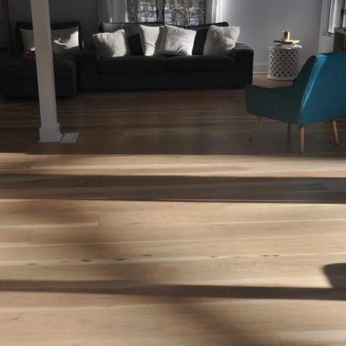shadows cast on hardwood floor