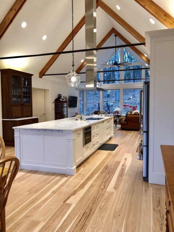 hickory interior kitchen